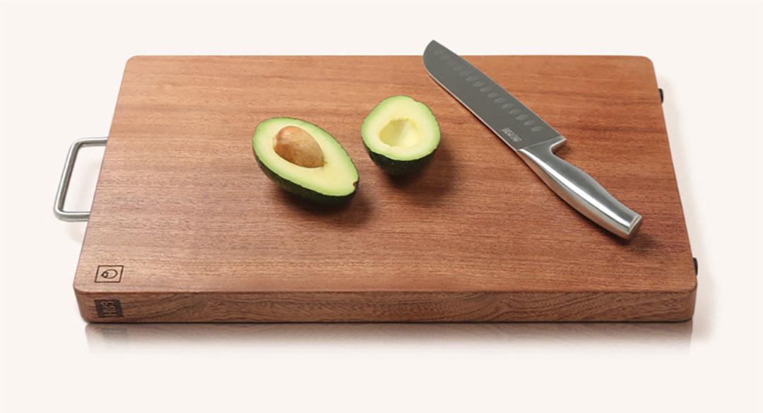 HuoHou Ebony Cutting Board