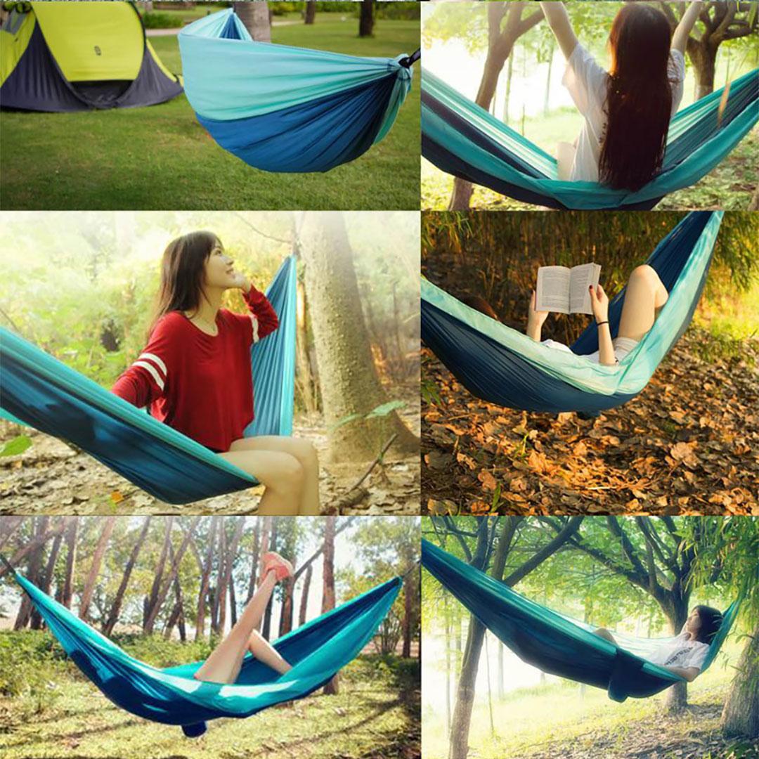 Zenph Outdoor Parachute Hammock