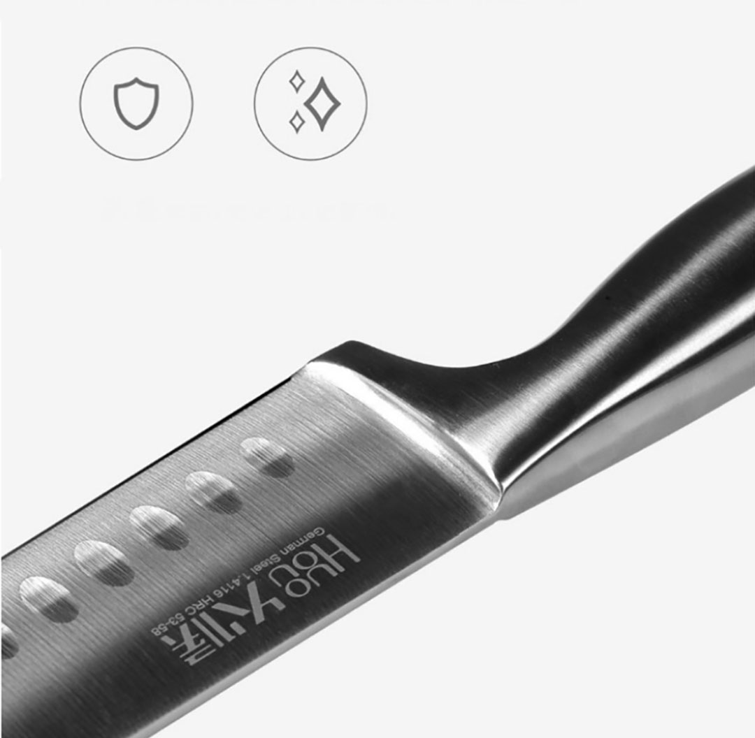 Xiaomi HuoHou 6 in 1 Steel Knife Set