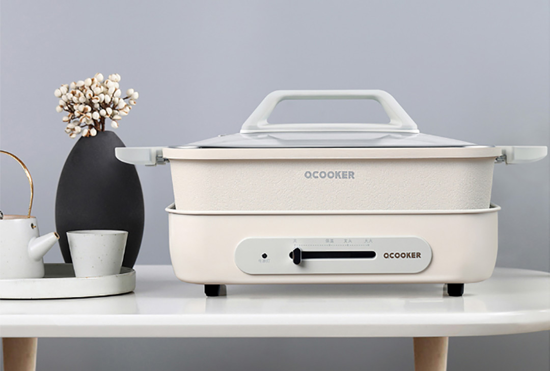 Xiaomi OCooker Retro-style Multifunction Electric Cooker with Interchangeable Pan