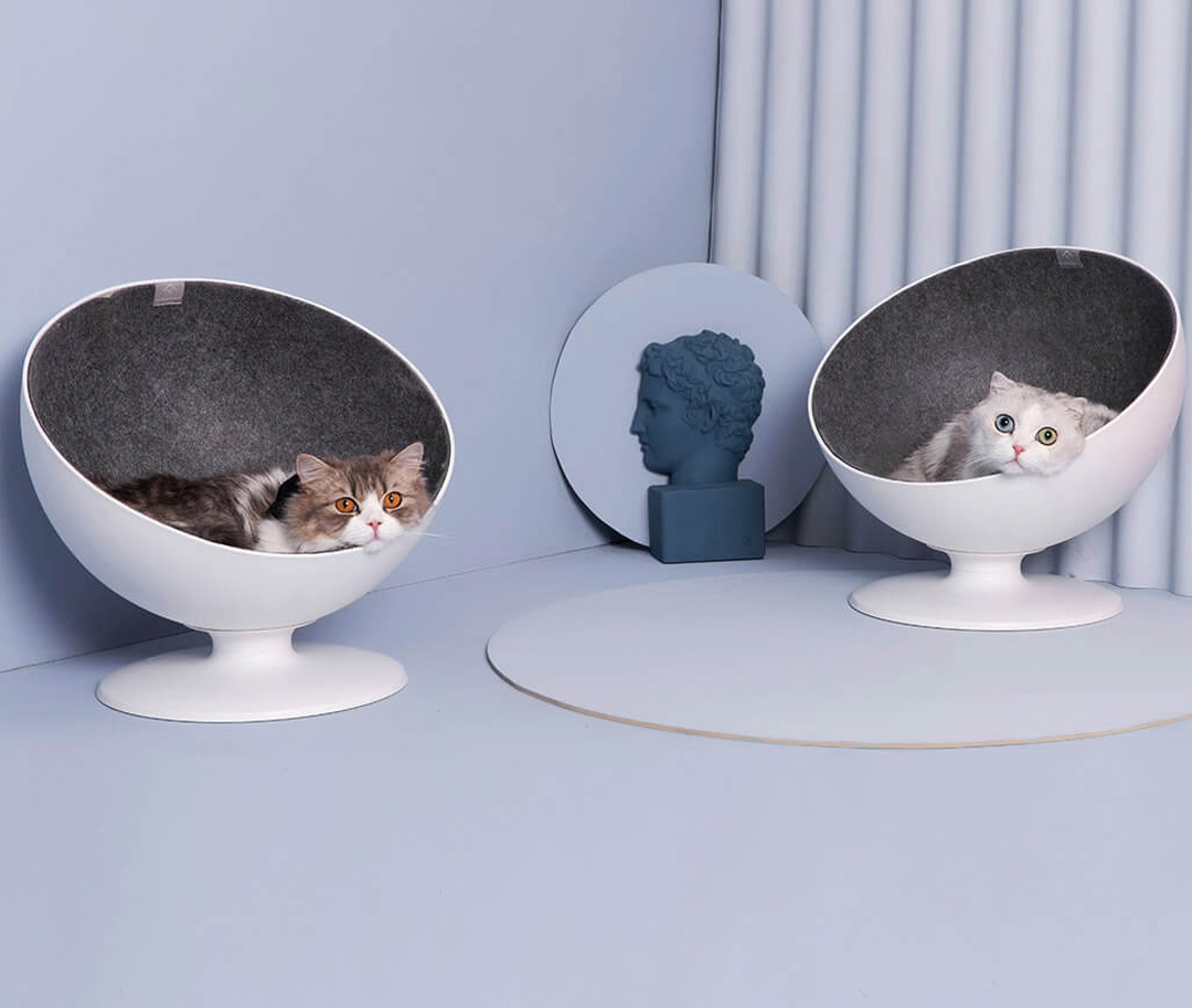 Xiaomi FurryTail Boss Cat Swivel Bed