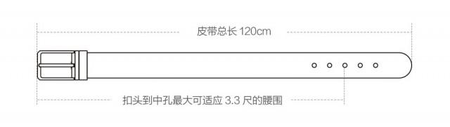 Xiaomi QIMIAN Italian Leather Pin Belt – Elite Series