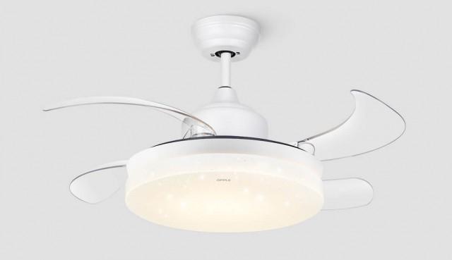 Xiaomi OPPLE Retractable Ceiling Fan + Light