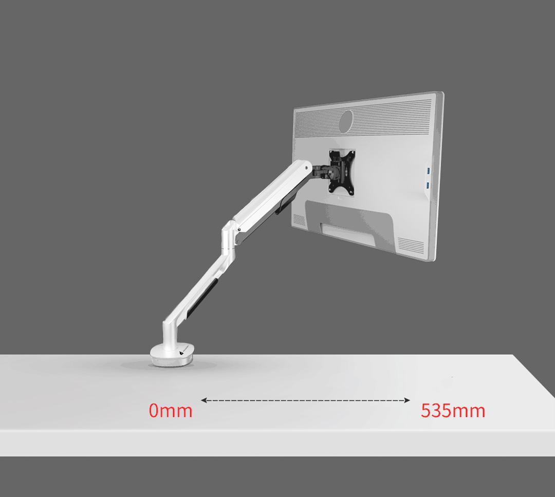 Squirrey Multi-Function Gas Spring Monitor Mount Arm MMA560