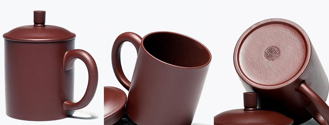 LiYong ZiSha Purple Clay Tea Cup