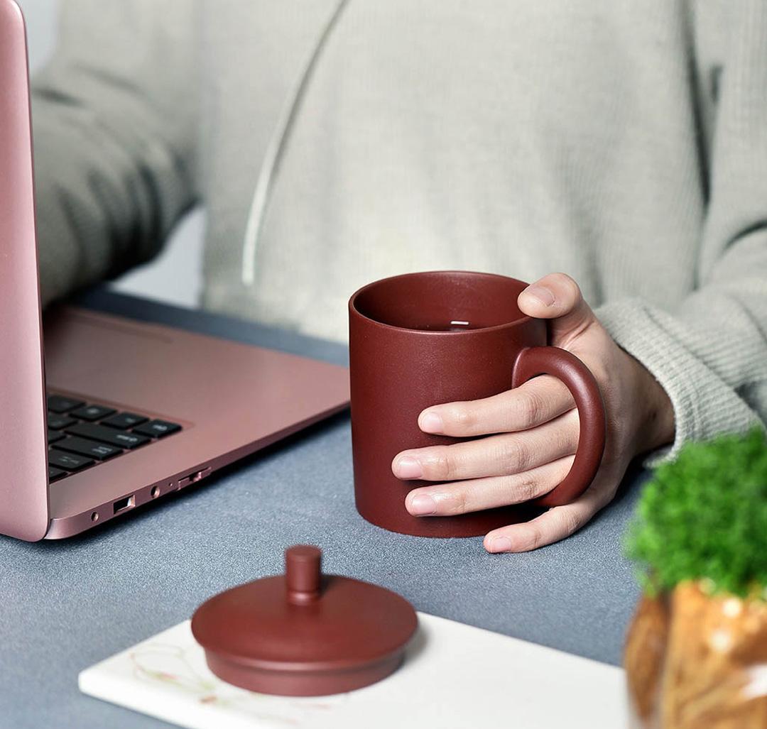 LiYong ZiSha Purple Clay Tea Cup