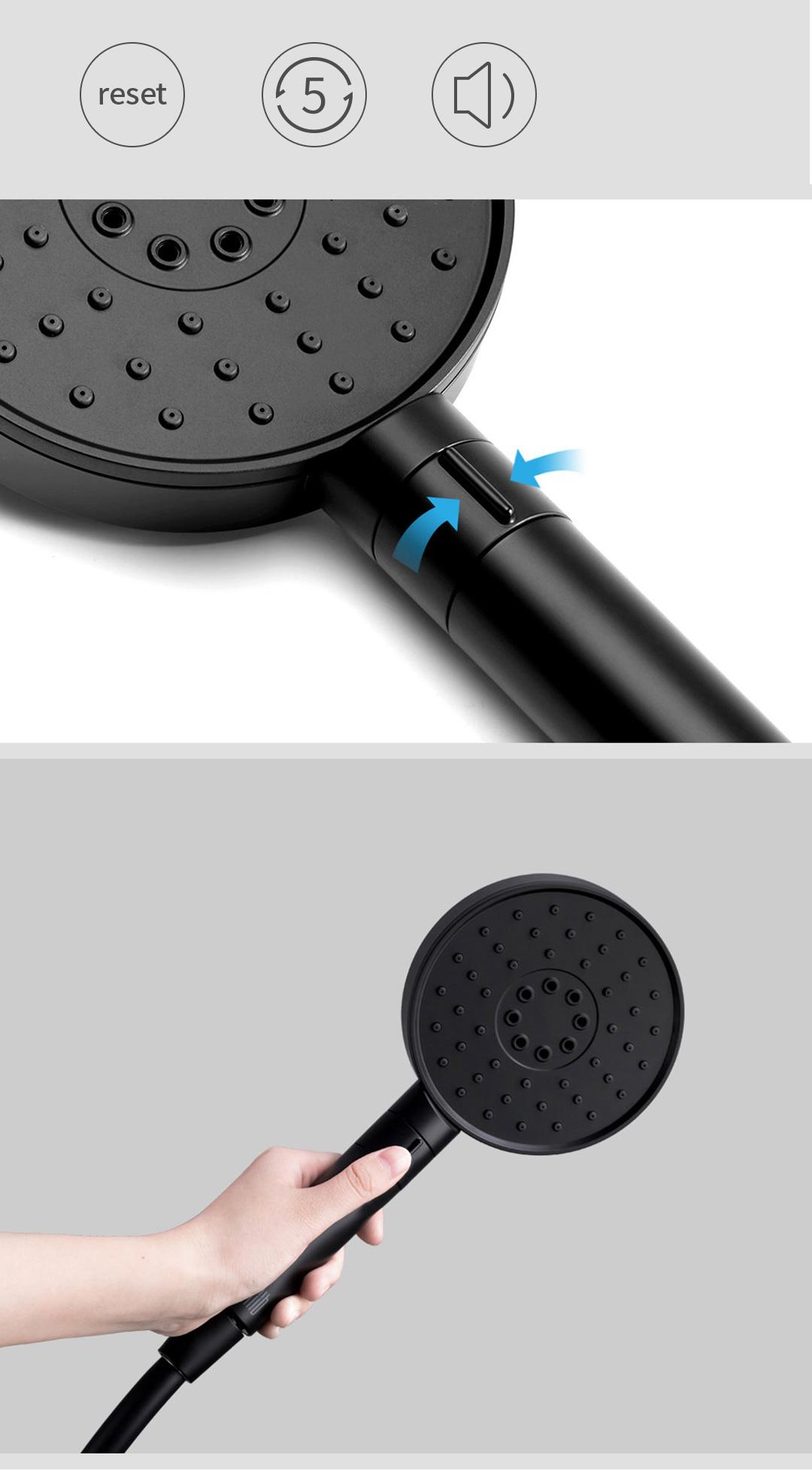 Xiaomi Diiib Shower Set Matt Black