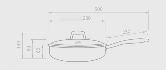 Xiaomi YiWuYiShi Stainless Steel Net Coating Frying Pan
