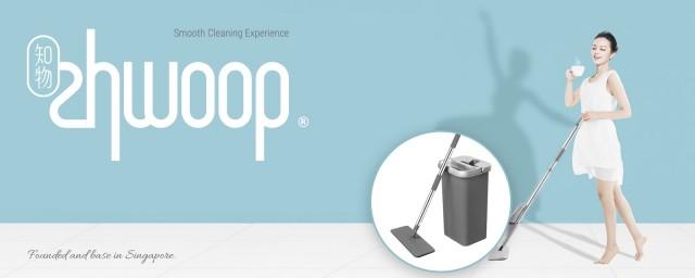 Zhwoop Flexible Hands-free Flat Mop