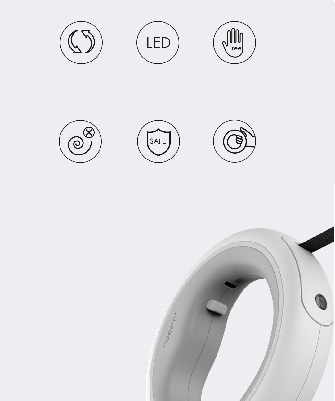 Xiaomi Moestar UFO Retractable Pet Leash
