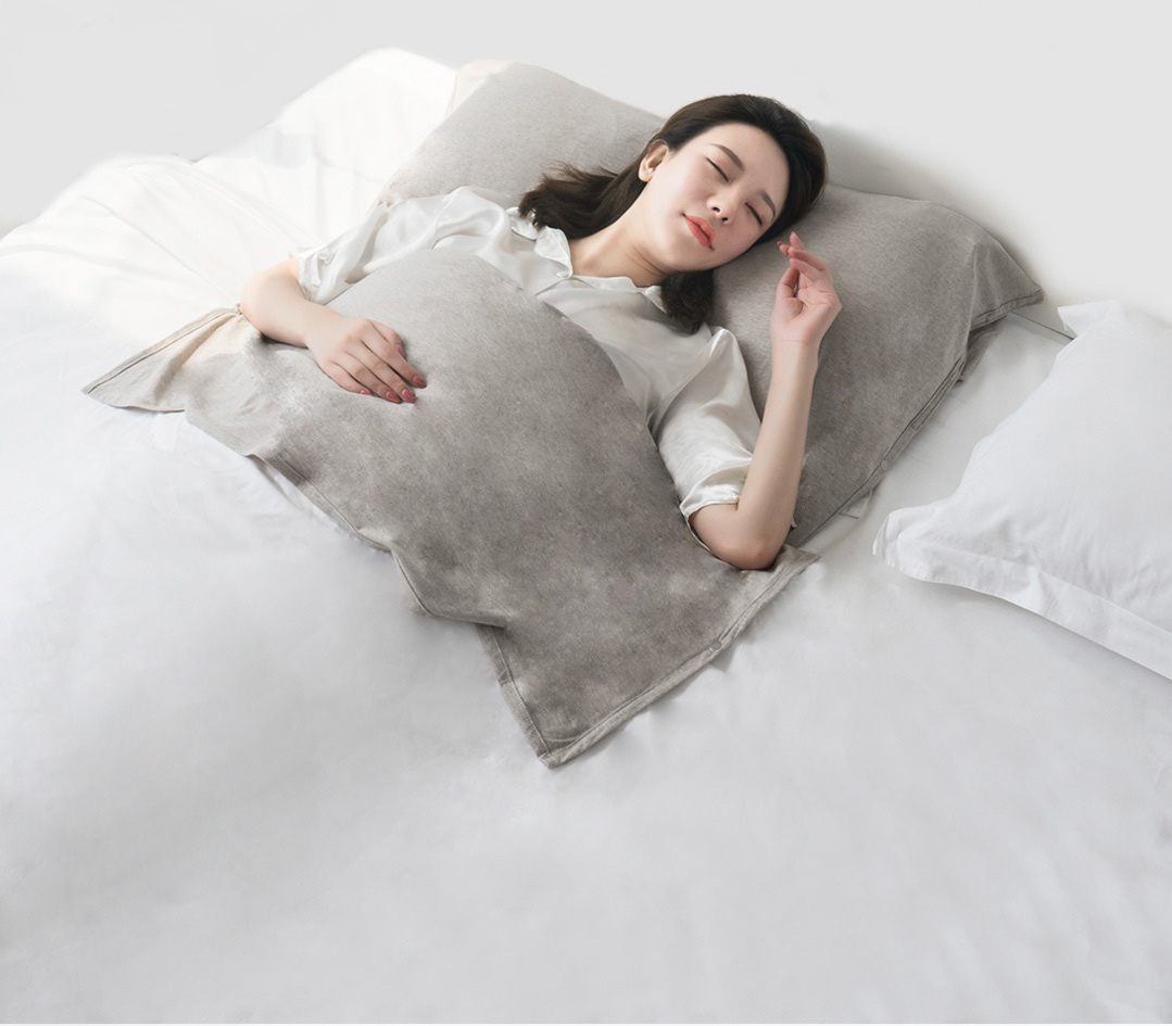 Xiaomi Como Living Anti-Mite Antibacterial Travel Blanket