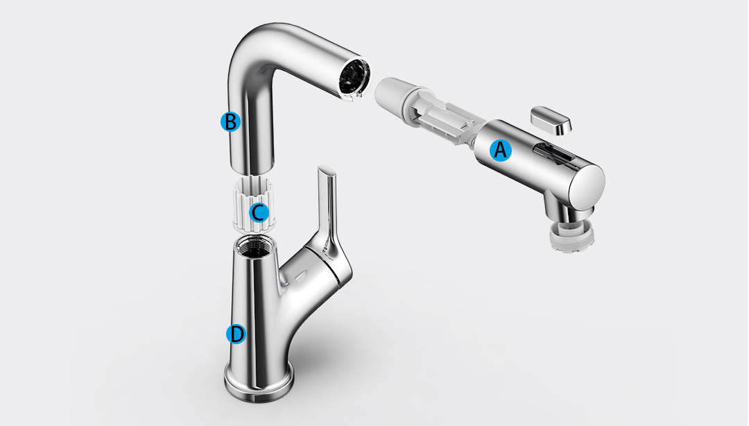 Xiaomi Diiib Pull-Out Kitchen Faucet