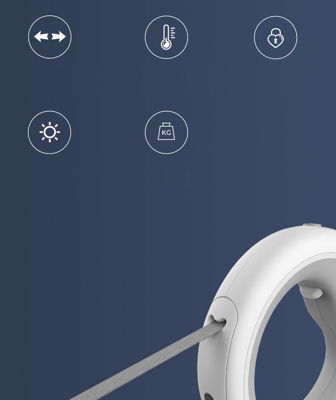 Xiaomi Moestar UFO Retractable Pet Leash