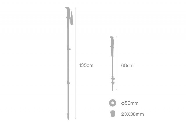 Xiaomi ZaoFeng Adjustable Trekking Pole