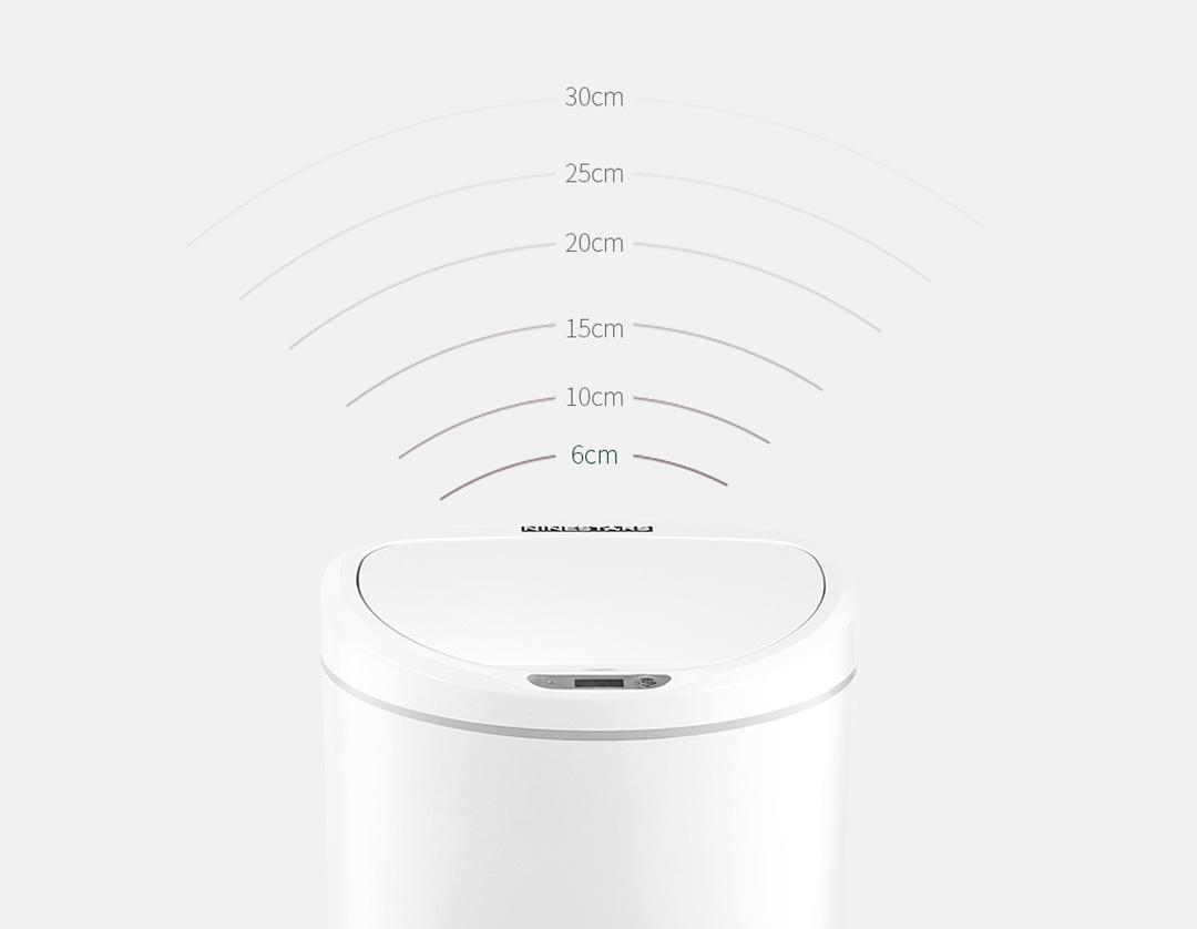 Xiaomi Ninestars Smart Induction Dustbin 10L