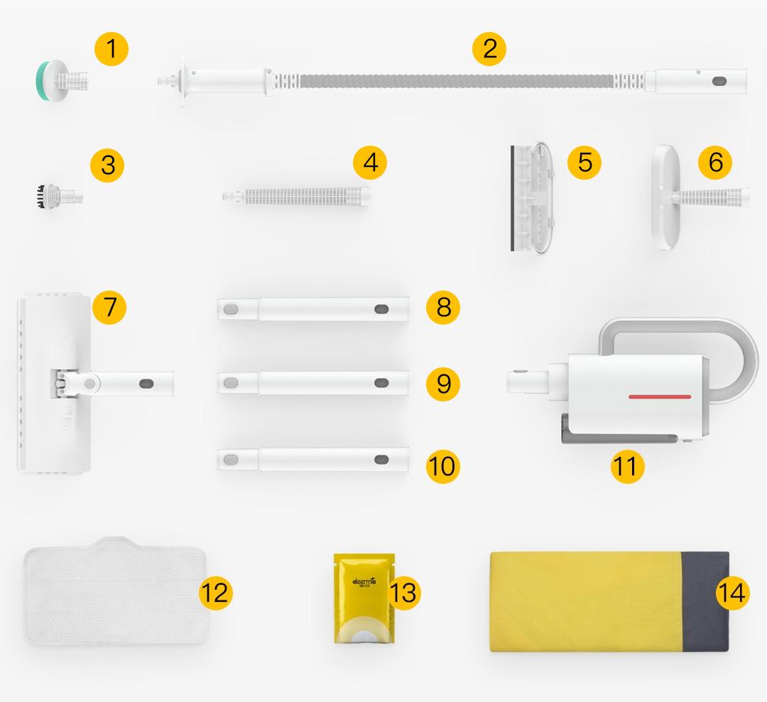 Xiaomi Deerma Multifunctional Steam Cleaner