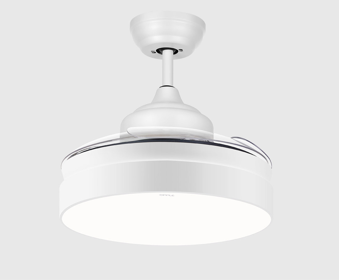 Xiaomi Opple Retractable Ceiling Fan + Light ( Nordic Style )