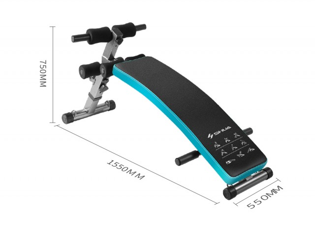 Xiaomi Shua Multifunctional Abdominal Fitness Bench