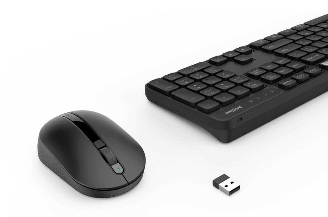 MIIIW Wireless Keyboard And Mouse Combo