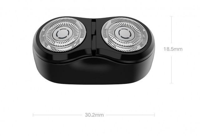 Mijia Cutter-Head Replacement For Dual-Head Electric Shaver