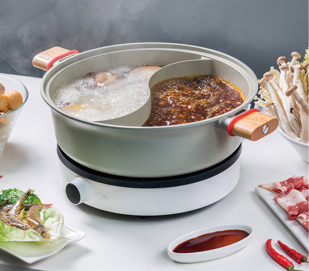 Xiaomi Taste Plus Divided Steamboat Pot