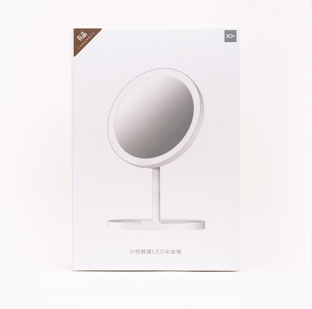 XY 2 in 1 Touch Screen LED Makeup Mirror