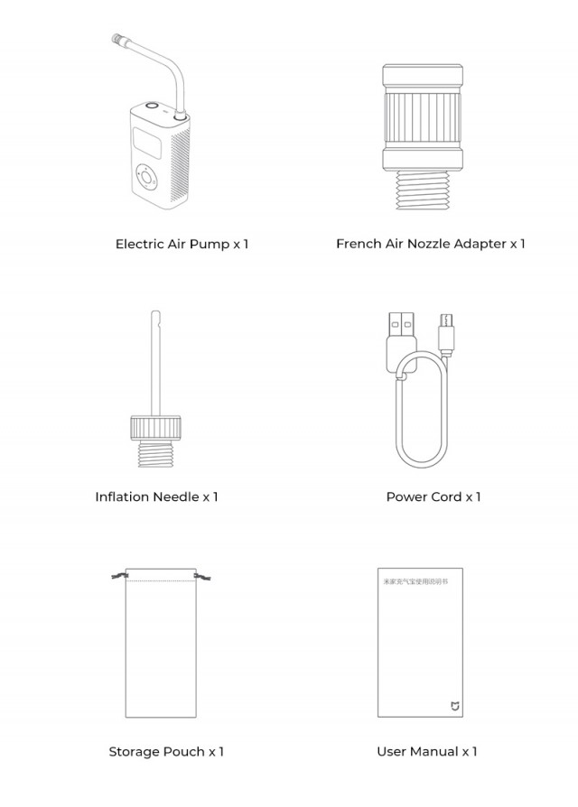 Xiaomi Mijia Electric Air Pump