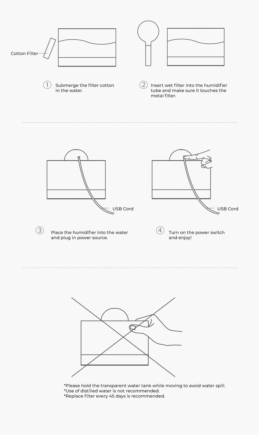 Xiaomi Solove Desk Humidifier H5