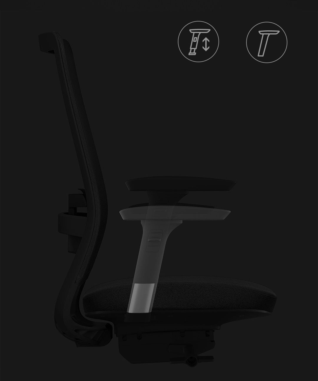 Xiaomi UE Nordic Style Ergonomic Office Chair Marc