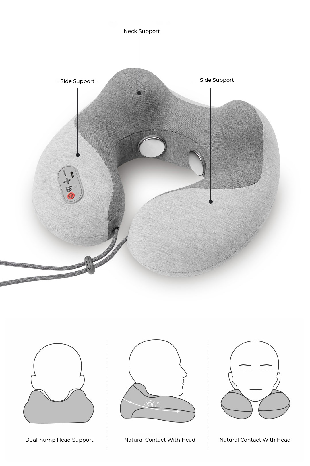 Xiaomi Momoda Multi-Function Neck Pillow SX332