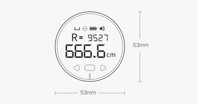 Xiaomi Duka Small Q Electronic Ruler
