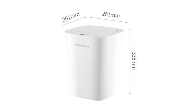 Xiaomi Ninestars Smart Induction Waterproof Dustbin