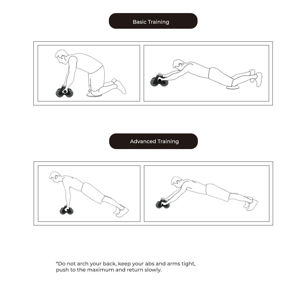 Xiaomi 7th Smart Rebound Abdominal Roller