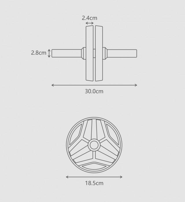 Xiaomi FED Abdominal Wheel
