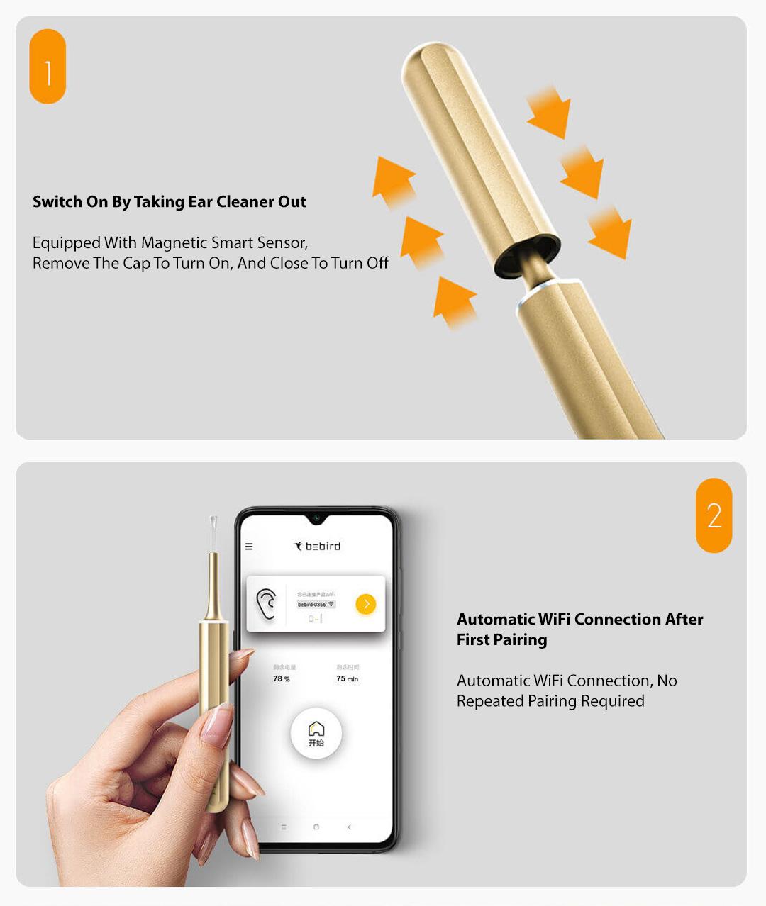 Xiaomi Bebird Smart Otoscope Ear Cleaning X7 Pro