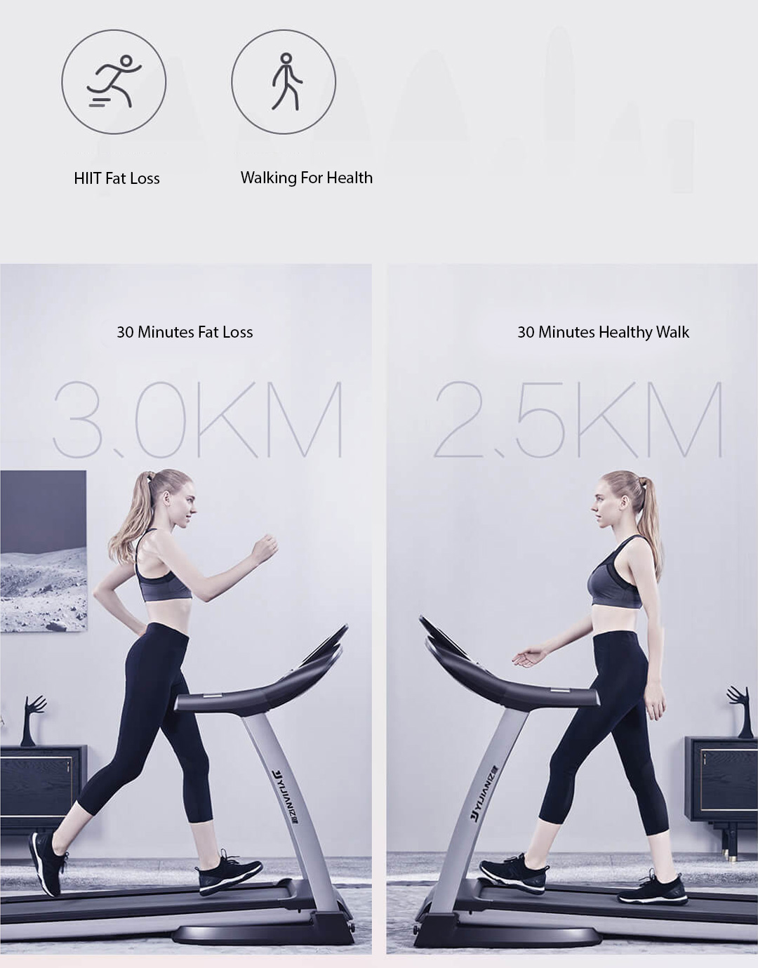 Xiaomi Yijian Smart Foldable Treadmill M1