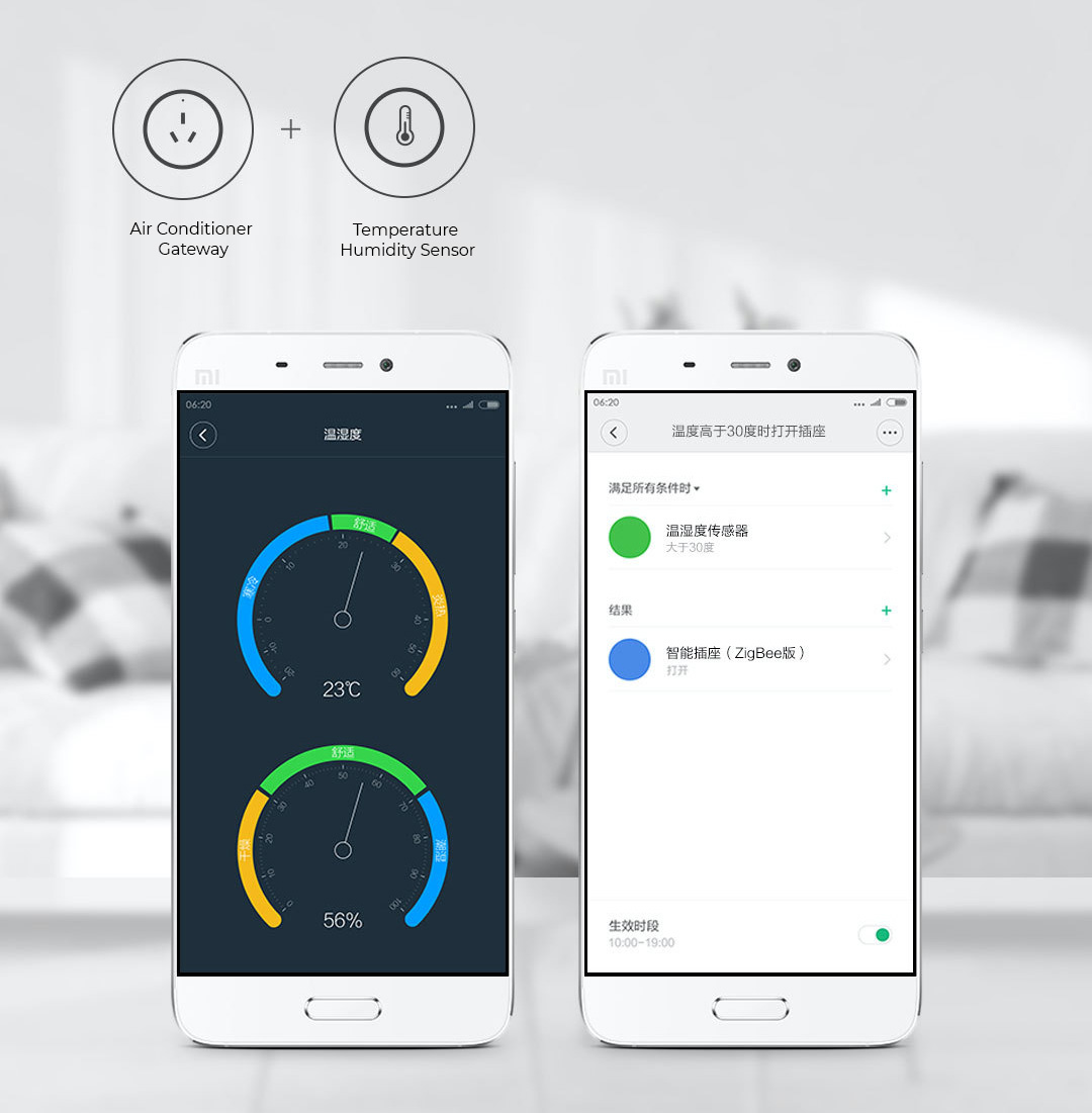 Xiaomi Mijia Smart Temperature Humidity Sensor