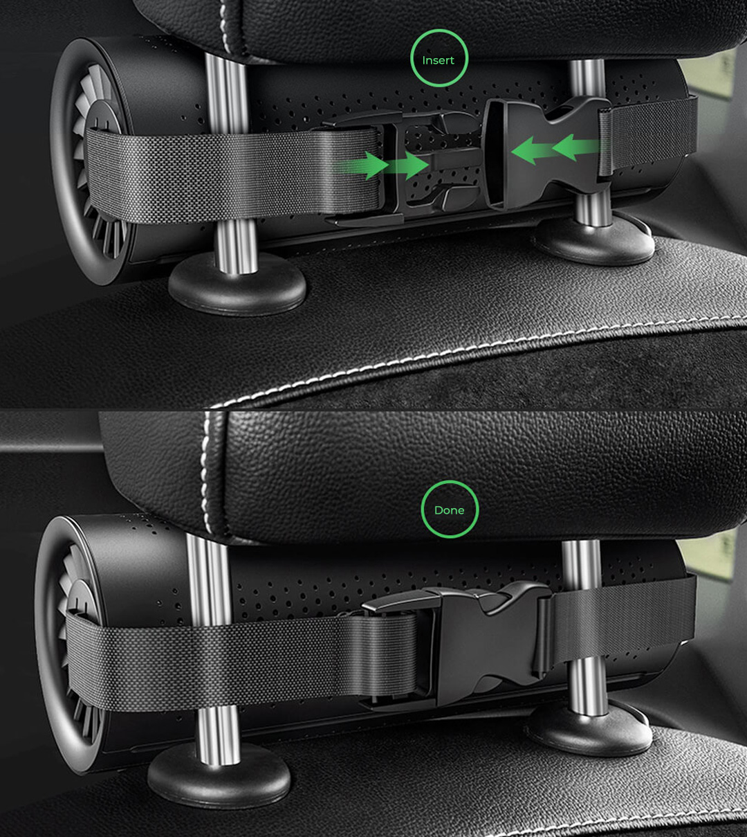 Xiaomi Baseus Activated Charcoal Car Air Purifier