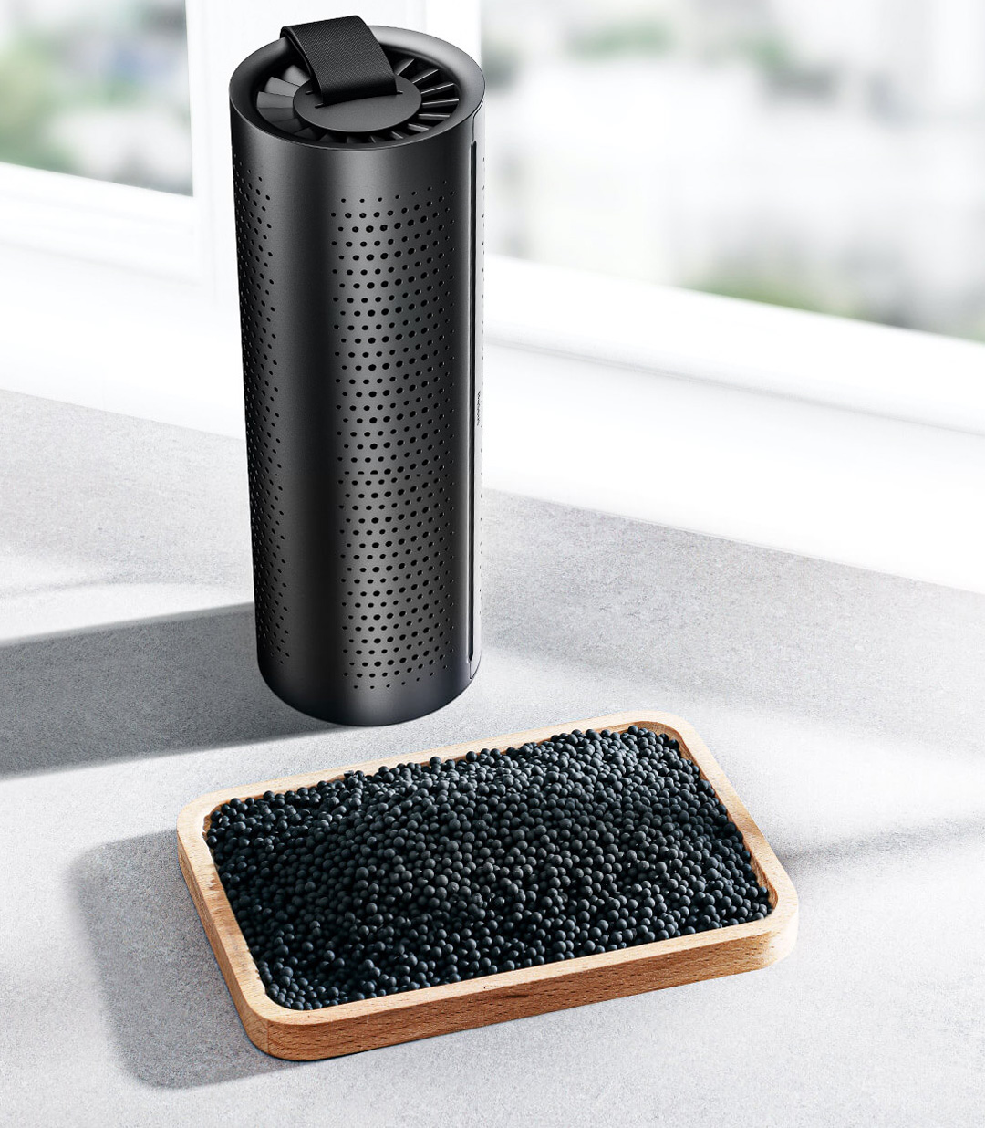 Xiaomi Baseus Activated Charcoal Car Air Purifier