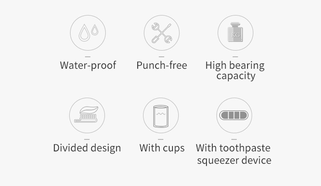 Zhwoop Tooth Brush Holder