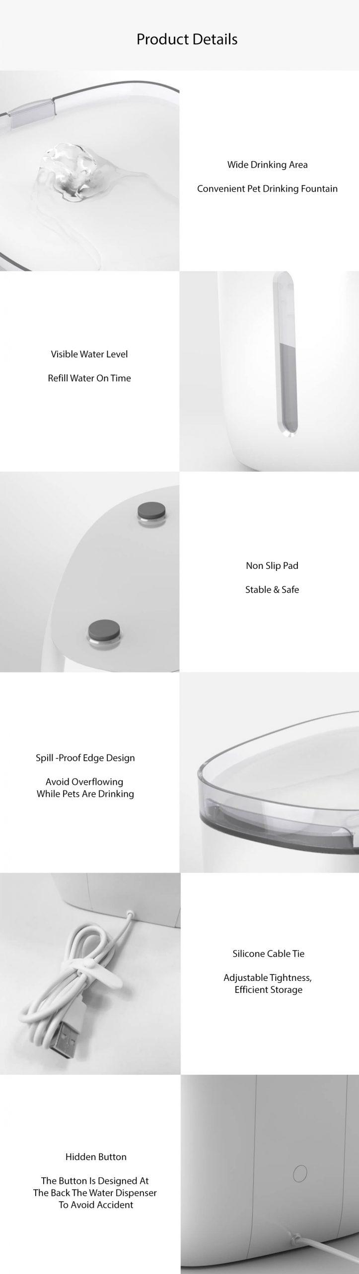 Xiaomi Petoneer Pet Smart Water Dispenser