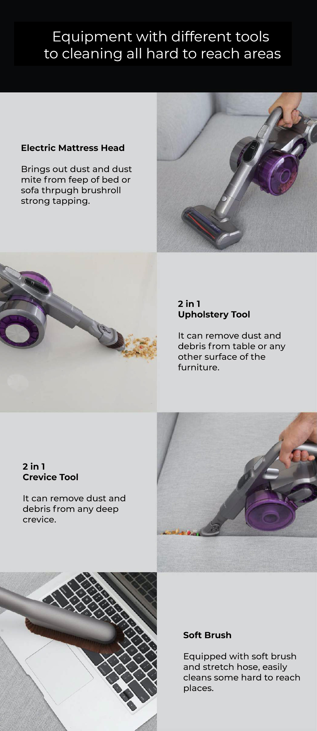 Jimmy Cordless Handheld Vacuum Cleaner JV85 Pro
