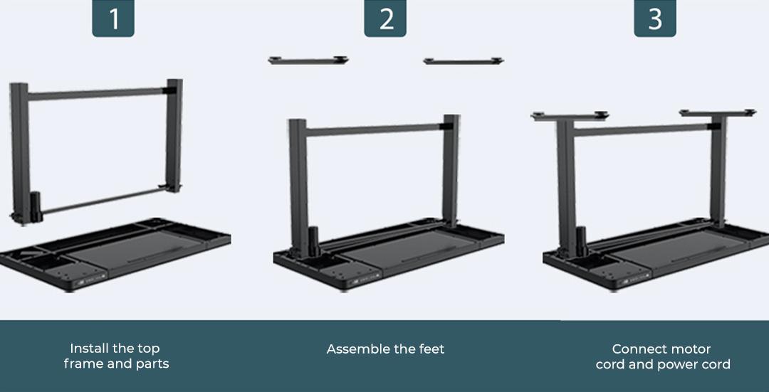 Xiaomi Loctek Electric Height Adjustable Desk