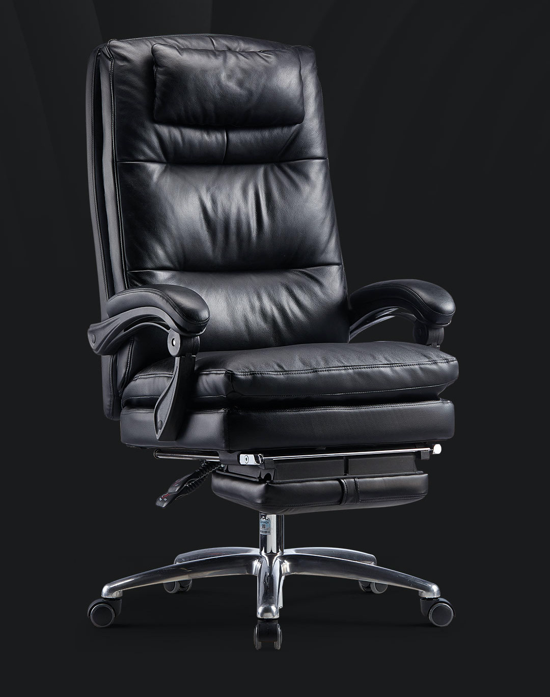 Xiaomi Hbada Leather Boss Chair With Footrest