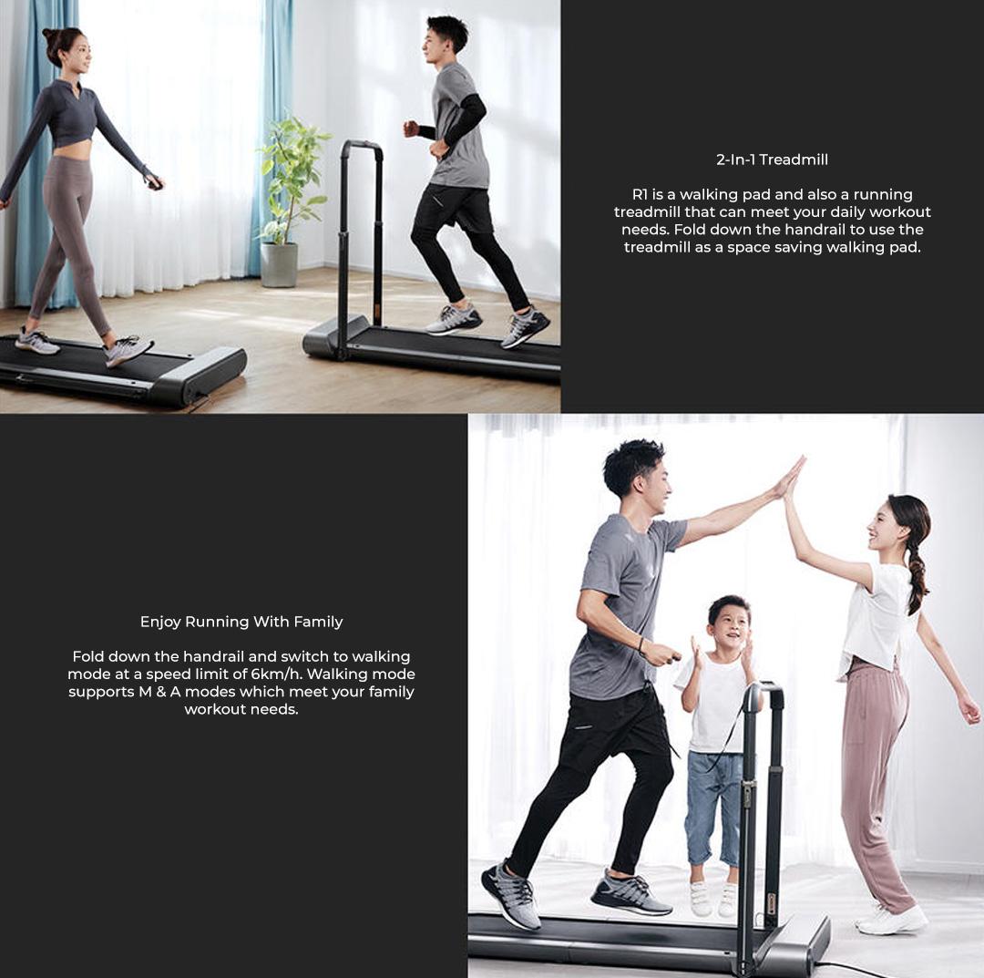 Kingsmith WalkingPad Foldable Treadmill R1 Pro