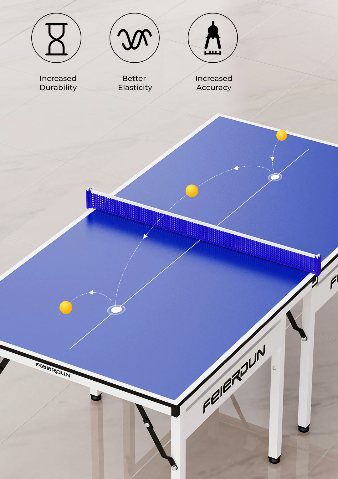 Xiaomi FED Home Mini Table Tennis Set and Table
