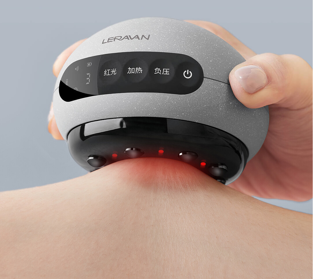 Xiaomi Leravan Electric Smart Cupping And Scraping Massager