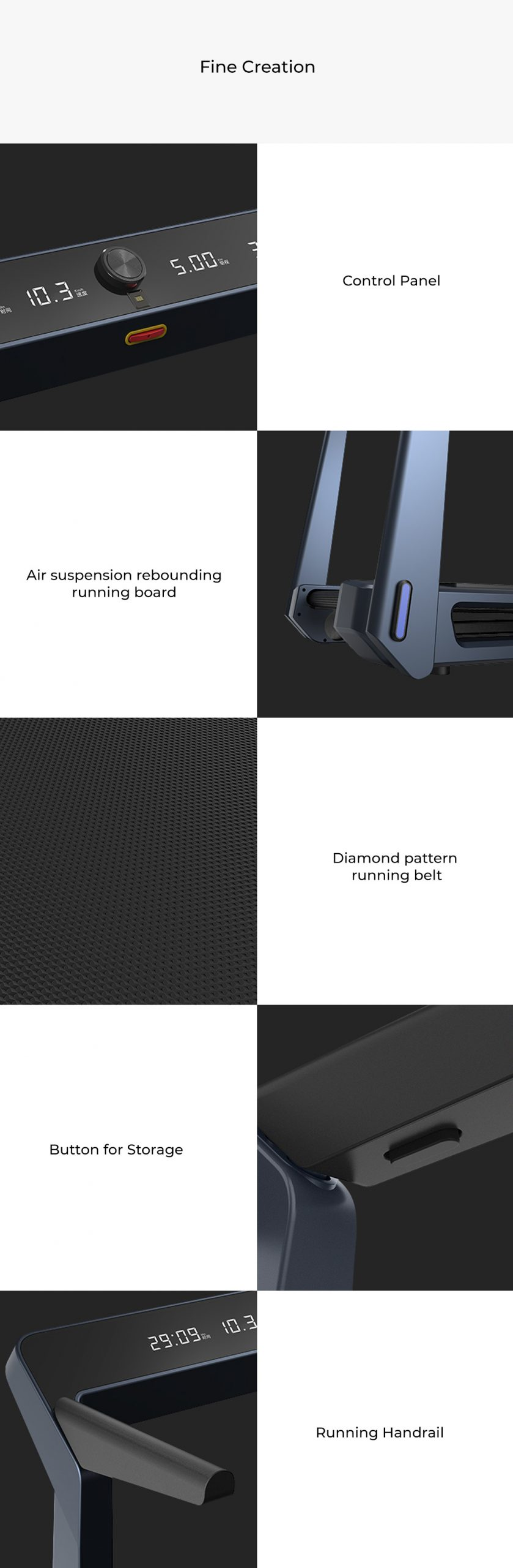 Xiaomi Kingsmith WalkingPad Foldable Treadmill K12 Pro