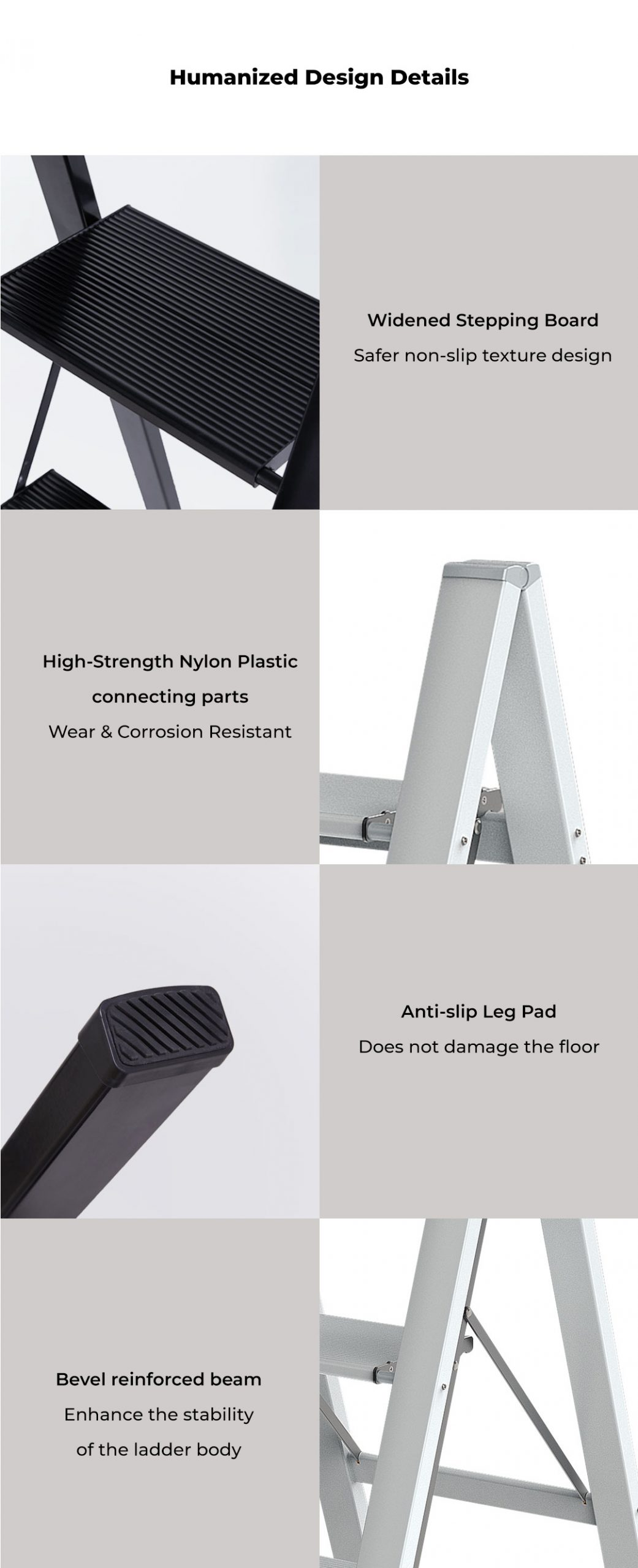 Mr Bond Foldable Household Ladder