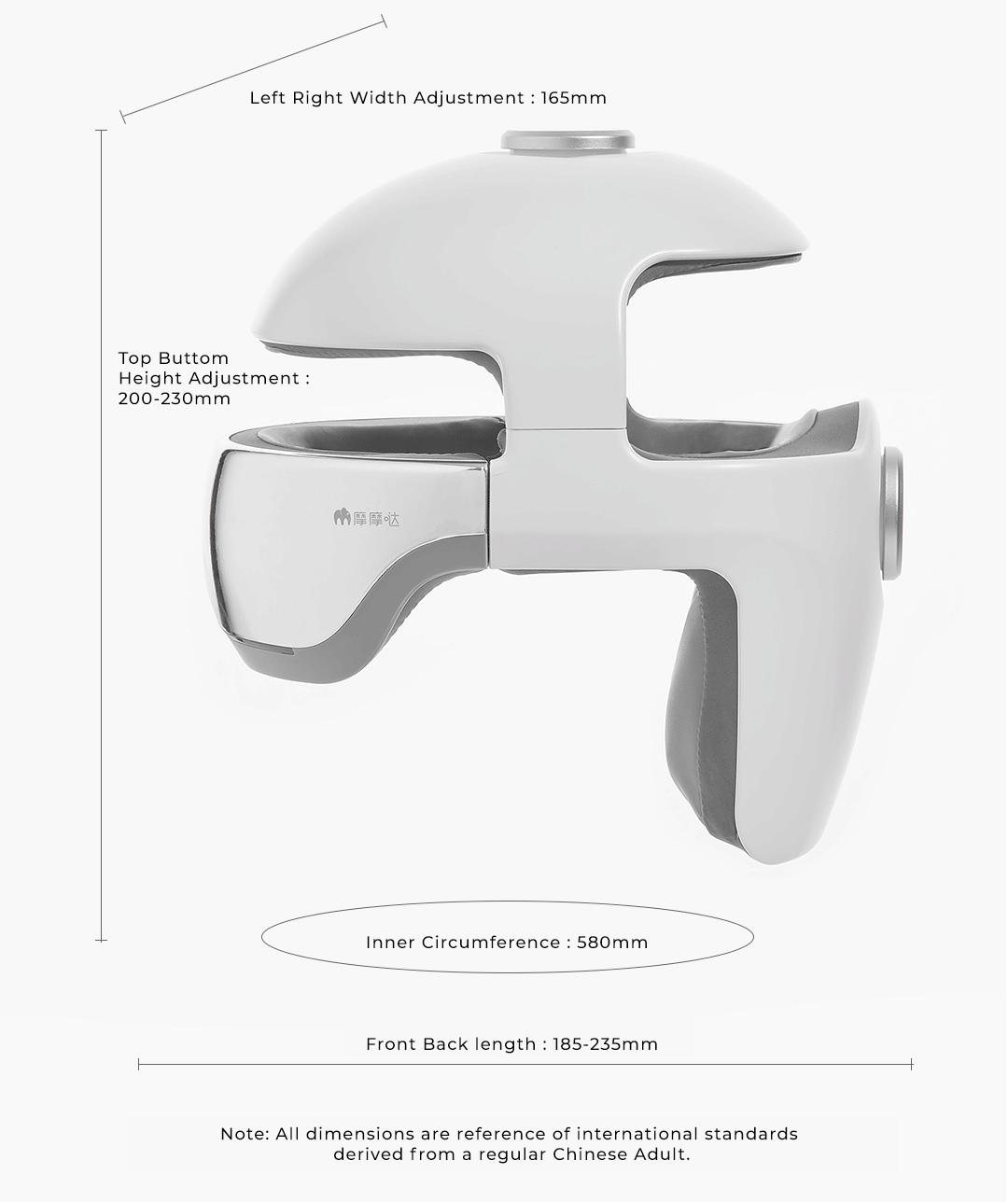 Xiaomi Momoda 3-In-1 Smart Head Massager